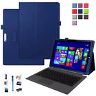 For Microsoft Surface Go RT Surface Pro 3 4 PU Leather Case Folding Stand Cover