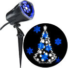 Chistmas Decorations Lightshow Projection Plus-Whirl-a-Motion Static-Tree