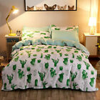 Cactus Green Bedding Duvet Cover Set Quilt Cover Twin Queen King Size image