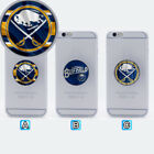 Buffalo Sabres Ice Hockey Mobile Phone Grip Holder Stand Mount $2.99 USD on eBay