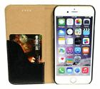 iPhone 6,6S Case, Genuine Leather Wallet Cover One Card Slot, Kickstand, Lychee