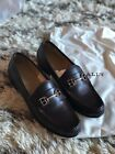 Bally Manoela Loafers- Cherry Brown- Size 8.5- NEW IN BOX