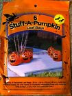 Stuff-A-Pumpkin Leaf Bags   AND Giant Lawn Spider  FAST Shipping