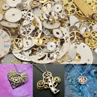 50g-100g Lot Vintage Steampunk Watch Old Parts Gears Wheels Jewelry DIY Art image