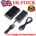 For Parrot Bebop 2 Drone/FPV Balanced Battery 3 In 1 Super Fast Charger UK