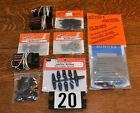 ASS'T LOT 10 RC AIRCRAFT PARTS/PACKAGES INCLUDING 3 RECEIVERS - NEW & USED