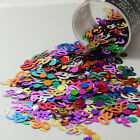 Number 30 and Circles Multicolor Confetti Bag 1/2 Oz Birthday Party CCP9002