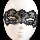 UK BLACK STUNNING VENETIAN MASQUERADE EYE MASK HALLOWEEN PARTY LACE FANCY DRESS