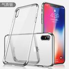 Shockproof Rubber Clear Soft TPU Case Plating Phone Cover High Quality