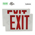 Red Exit Sign Ni-cd Battery Emergency Lighting Universal Standard LED Indoor