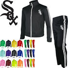 Mens Chicago White Sox Track Suit Running Zip Up Jacket Pants Training Gym 0100