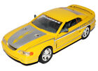 Ford Mustang IV SVT Cobra Coupe Gelb 1994-1998 1/24 Motormax Modell Auto mit o..
