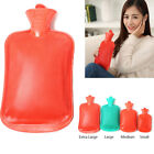 Durable Thick Rubber Hot Water Bottle Bag Warmer Relaxing Heat Therapy Gift