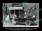 OLD HISTORIC PHOTO OF DETRIOT, HUPMOBILE DEALERS CONVENTION AT FACTORY c1915 3