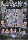 BC-064 GB 2005 Champions - Chelsea 2004/05 Smiler sheet UNMOUNTED MINT