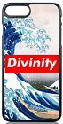 Divinity Box Logo Case Cover The Great Wave at Kanagawa Fit iPhone & Samsung