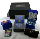 Superman Tie and Accessories Gift Box Authentic DC Comics Collection NWT