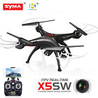 Syma X5SW-V3 Explorers RC Drone FPV Wifi 2.4Ghz Quadcopter HD Camera+5 Batteries