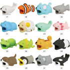 Cartoon Animal Shaped Cable Bite Protector Clip for Phone Wire Holder Organizer