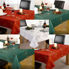 Linens Limited Angelica Jacquard Woven Christmas Tablecloth