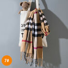 Внешний вид - Children's scarf imitation cashmere winter Korean plaid child baby warm scarf