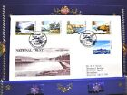 GB PHILART FDC 1981 SCOTLAND NATONAL TRUST SET OF 5,STAMPS NICE POST MARKS(148)
