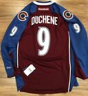 Reebok Premier NHL Jersey Colorado Avalanche #9 Duchene Burgundy Stitched $78.87 USD on eBay