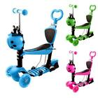 3 Wheels Kick Scooter Skate Ride Kids Child Toddler Girl Toy Play 3Color Outdoor