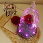 BEAUTY AND THE BRAST Enchanted Rose Bluetooh Speaker Limited Disney Glass Dome