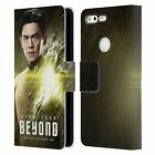 OFFICIAL STAR TREK CHARACTERS BEYOND XIII LEATHER BOOK CASE FOR GOOGLE PHONES