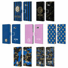 INTER MILAN 2017/18 CREST PATTERNS LEATHER BOOK WALLET CASE FOR HTC PHONES 1