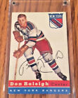 1954-55 TOPPS HOCKEY CARD DON RALIEGH #53 NICE SHAPE!