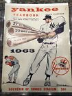1963 New York Yankees Yearbook Signed Mickey Mantle, Whitey Ford, Tresh! SGC