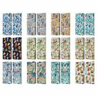 MICKLYN LE FEUVRE PATTERNS 2 LEATHER BOOK WALLET CASE COVER FOR SAMSUNG PHONES 3