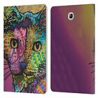 OFFICIAL DEAN RUSSO CATS 2 LEATHER BOOK CASE FOR SAMSUNG GALAXY TABLETS