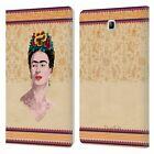 FRIDA KAHLO PORTRAIT LEATHER BOOK WALLET CASE COVER FOR SAMSUNG GALAXY TABLETS