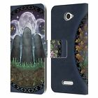 BRIGID ASHWOOD CELTIC WISDOM 3 LEATHER BOOK WALLET CASE COVER FOR SONY PHONES 2