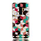 For Samsung Galaxy S5 S6 S7 S8 S9 S10 Slim Soft Silicone Painted TPU Case Cover