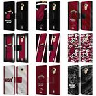 OFFICIAL NBA MIAMI HEAT LEATHER BOOK WALLET CASE COVER FOR WILEYFOX on eBay