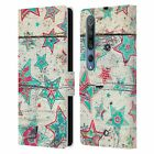 OFFICIAL MICKLYN LE FEUVRE HOLIDAY PATTERNS LEATHER BOOK CASE FOR XIAOMI PHONES
