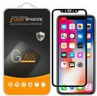 2X Supershieldz Apple iPhone XS Full Cover Tempered Glass Screen Protector (BK)