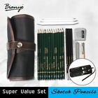 Bianyo 22Pcs Charcoal Earser Knife Drawing Pencil Sketch Painting Canvas Pencil image