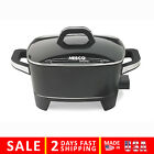 Nesco ES-12 Extra Deep Electric Skillet 12-Inch Black Skillets Small Kitchen Bar