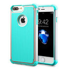 Iphone X 6s 7 8 Plus Case Non slip Hybrid Dual Layer Silicone Shockproof Cover