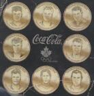 2002 OLYMPIC TEAM CANADA COKE COCA COLA COINS SEAL PACK 1965-66 CARD SEE LIST $4.0  on eBay