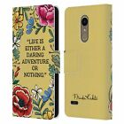 OFFICIAL FRIDA KAHLO ART & QUOTES LEATHER BOOK WALLET CASE COVER FOR LG PHONES 1