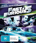 Movie-Fast And Furious 5 (Region 2) Blu-Ray NEW