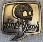 F*CK YOU PIN GOLD NEW (P26)