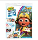 CRAYOLA COLOR WONDER BEAT BUGS~INCLUDES 18 PAGES & 5 MARKERS~FOR AGES 3+~NEW