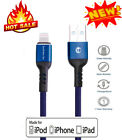 3FT 6FT 10FT Lightning USB Cord For iPhone 6s 6 5s 7 8 X Data Sync Charger Cable